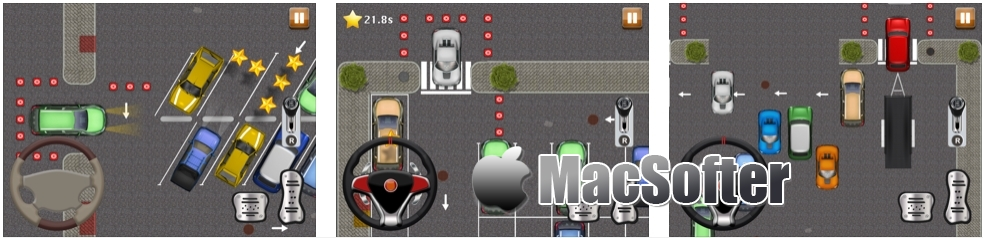 [iPhone/iPad限免] Park the Car! :停车场停车游戏