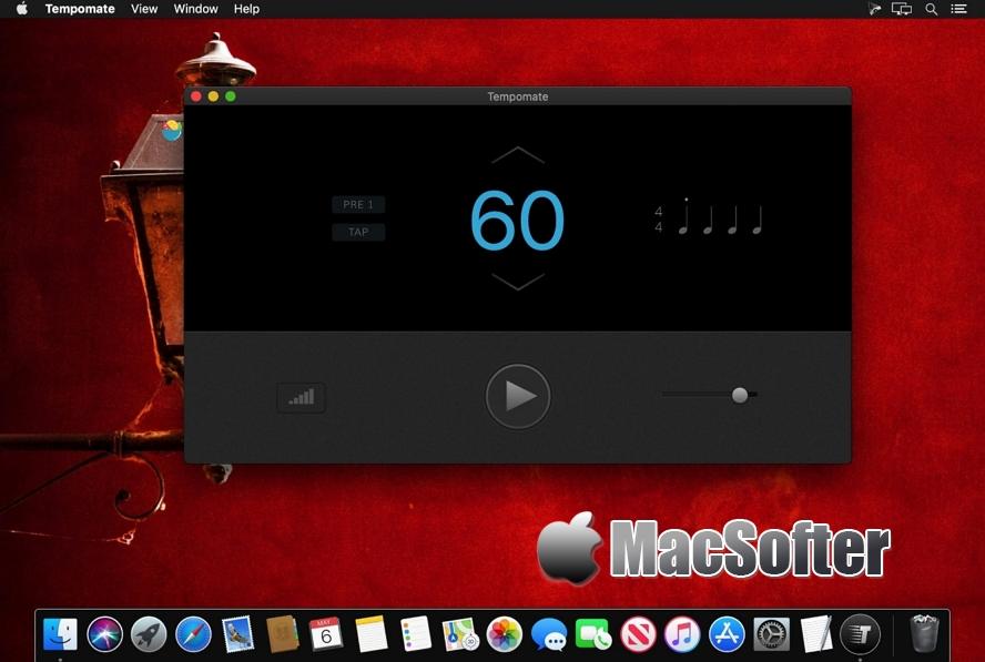 [Mac] Tempomate :界面漂亮的音乐节拍器软件