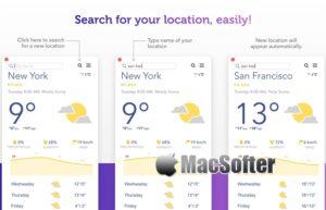 [Mac] Weather Feel :界面优雅的天气预报软件