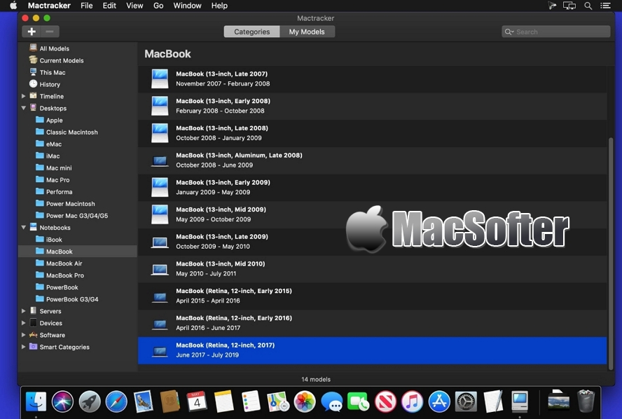 [Mac] Mactracker : 硬件信息检测工具