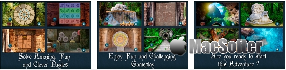 [iPhone/iPad限免] The Lost Fountain : 神秘岛探险冒险解谜游戏