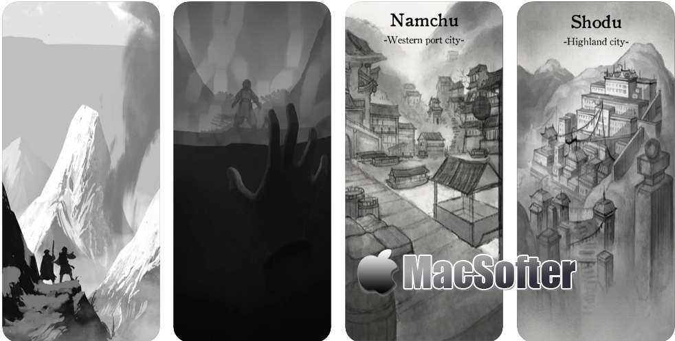 [iPhone/iPad限免] Wanderer of Lifetimes : 探险式角色扮演游戏