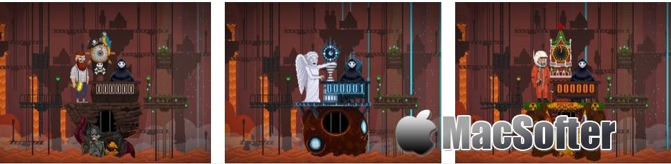 [iPhone/iPad限免] Peace, Death! (安息,死亡!) :街机模拟风格游戏