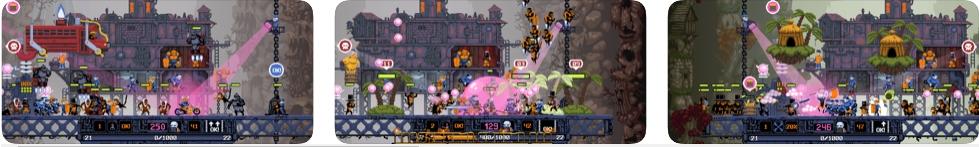 [iPhone/iPad限免] DRAW CHILLY :像素风格的地狱打怪街机游戏