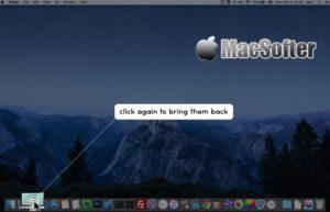 [Mac] 1 Click Show Desktop : 一键显示桌面工具