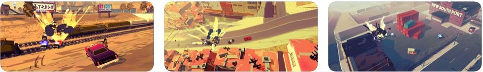 [iPhone/iPad限免] PAKO 2 :扮演逃亡司机3D赛车游戏