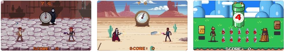 [iPhone/iPad限免] Gun Done: COLOR PARADE - 像素画风横版游戏