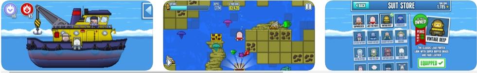 [iPhone/iPad限免] Deep Loot : 深海寻宝游戏