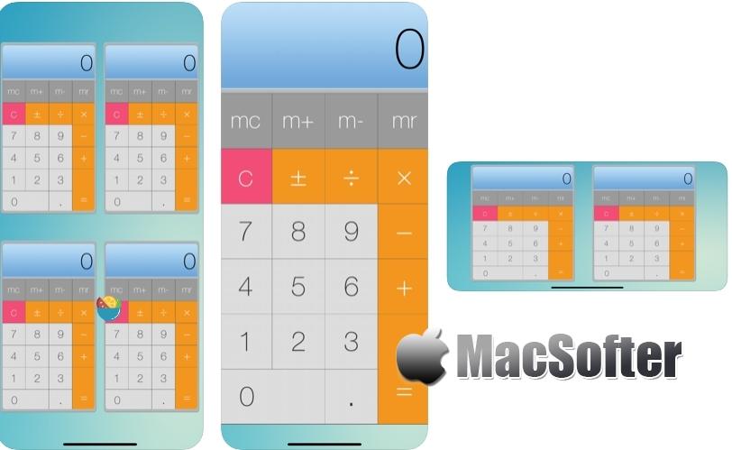 [iPhone/iPad限免] Calculator - PRO(计算器 - 专业版) :支持多开的计算器软件