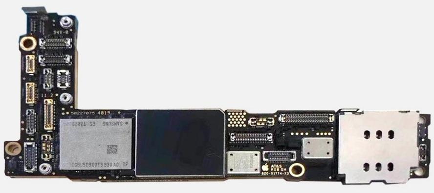 首张疑似iPhone 12谍照现身:L型主板设计