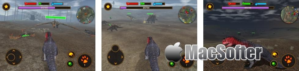 [iPhone/iPad限免] Clan Of Carnotaurus : 恐龙战队主题休闲益智游戏