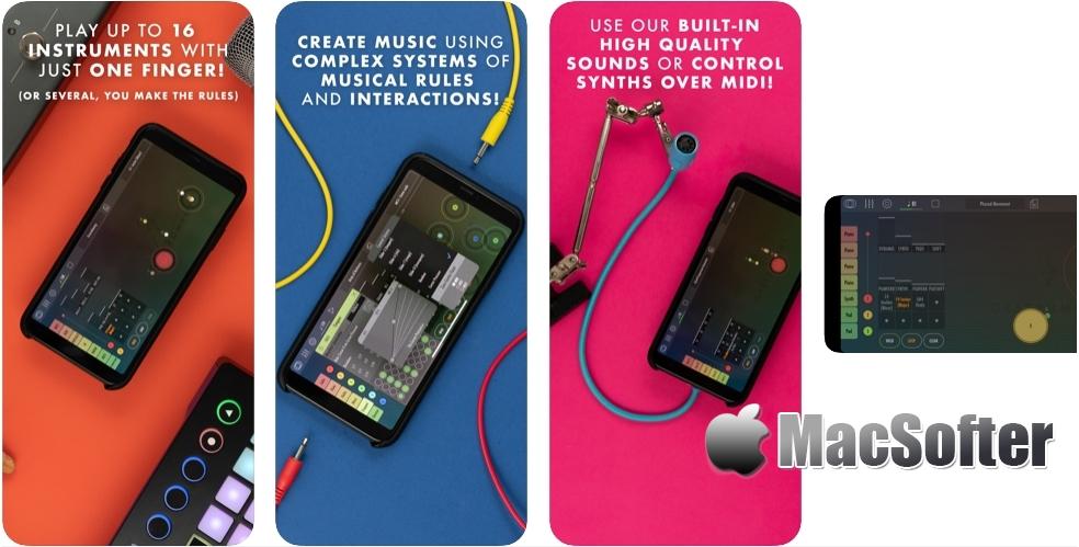 [iPhone/iPad限免] Gestrument Pro : 即兴演奏和音乐创作工具