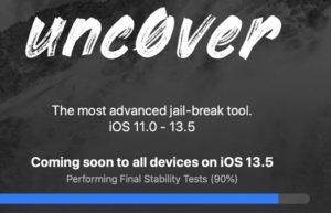 iOS 13.5越狱快将推出:unc0ver任何设备都可越狱