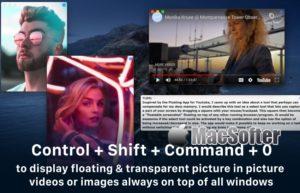 [Mac] Floating :应用程序窗口画中画排列工具