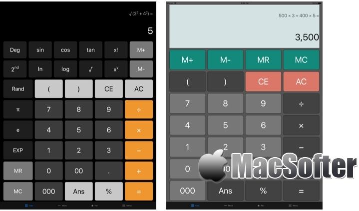 [iPhone/iPad限免] 多合一计算器 [Pro] :强大的多功能计算器