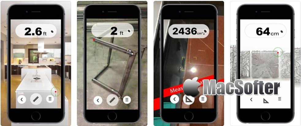 [iPhone限免] 口袋卷尺 : 用相机测量长度的工具