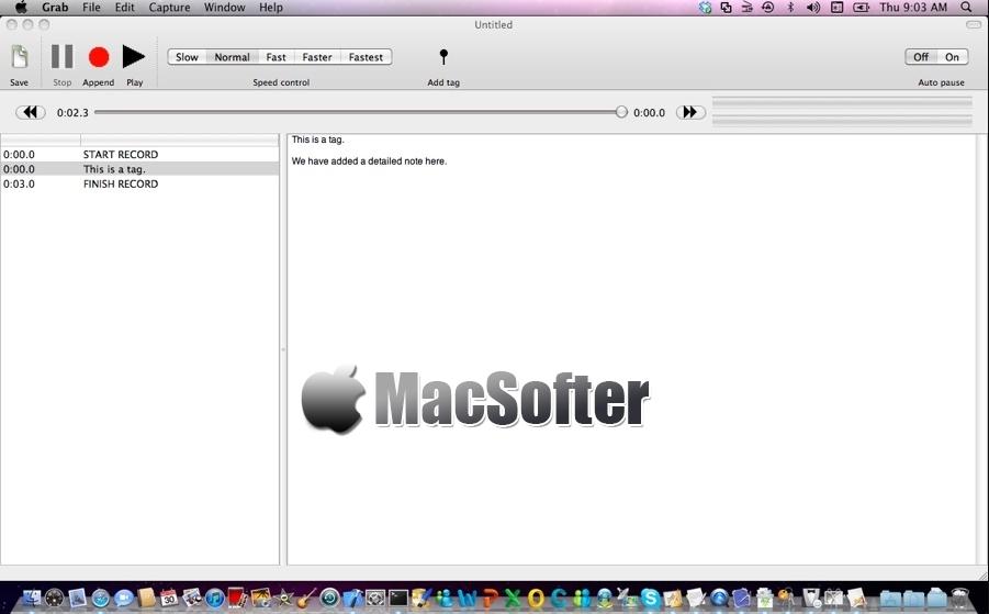 [Mac] Smart Recorder :基于时间标签的录音软件