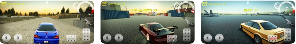 [iPhone/iPad限免] Drift Horizon Online Pro :3D超级赛车游戏