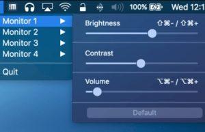[Mac] MonitorControl :外接显示器亮度对比度一键调整设置工具