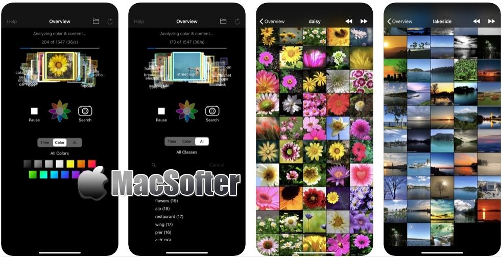[iPhone/iPad限免] Deep Photo Analyzer with AI : 照片视频分析及检索工具