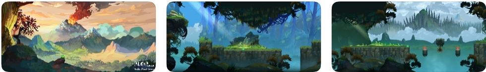 [iPhone/iPad限免] Plop Saga : 像素画风横版跳跃游戏