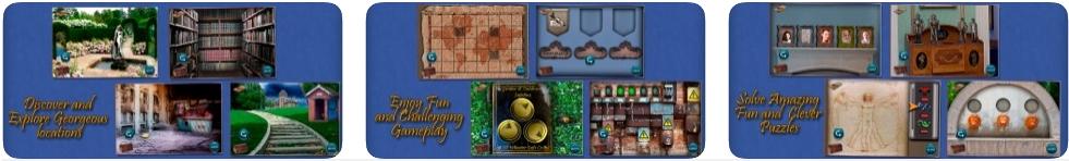 [iPhone/iPad限免] The Secret of Crimson Manor : 古宅探险解谜游戏