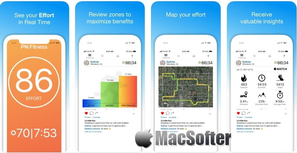 [iPhone/iPad限免] PK Fitness : 基于努力程度的健身追踪软件