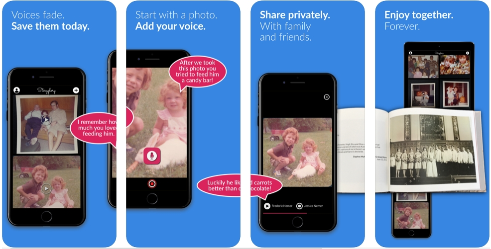 [iPhone/iPad限免] Storyglory : 为照片配录音的软件