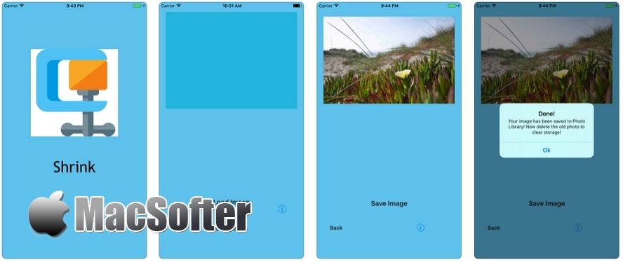 [iPhone/iPad限免] Shrink :图片无损瘦身软件