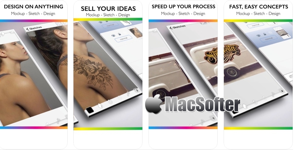[iPhone/iPad限免] #Mock-up :照片模拟素描绘制工具