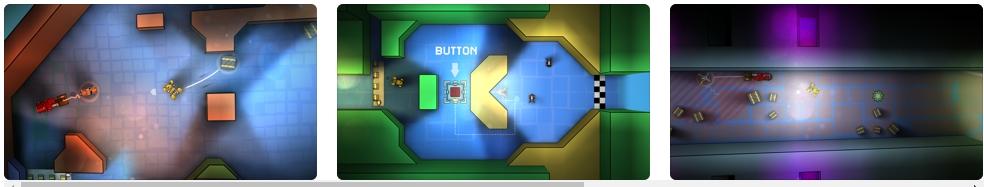 [iPhone/iPad限免] Tile Rider : 磁铁小型工具车益智解谜游戏