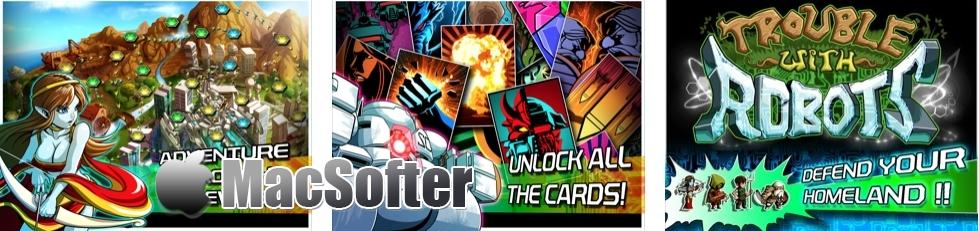 [iPhone/iPad限免] TROUBLE WITH ROBOTS :横向式的卡片策略游戏