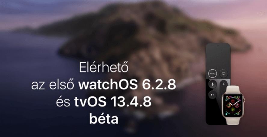 watchOS 6.2.8及tvOS 13.4.8 Beta 1登场