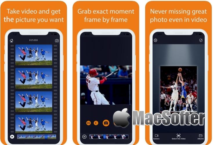 [iPhone/iPad限免] 视频抓图器 : 从视频中抓取精彩图片