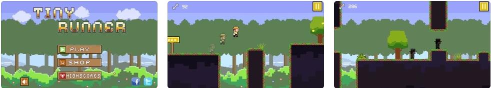 [iPhone/iPad限免] 酷跑达人 :横版像素画风跑酷游戏