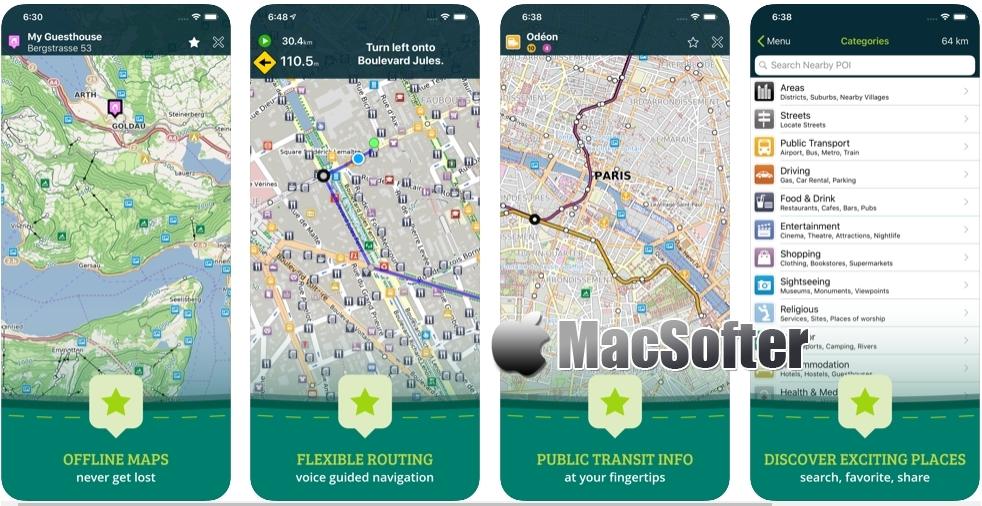 [iPhone/iPad限免] Pocket Earth PRO : 旅游必备世界离线地图