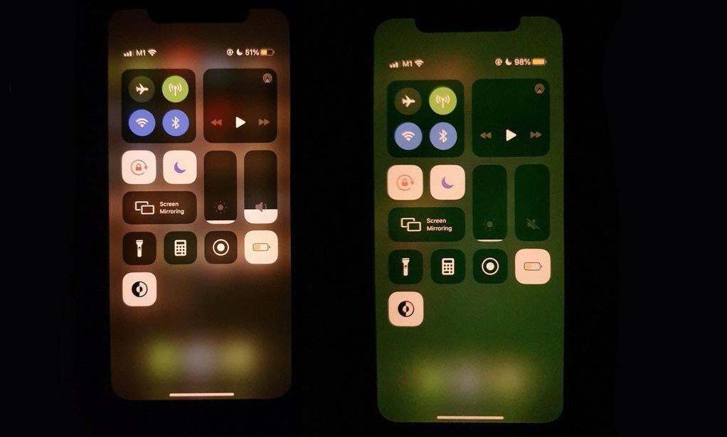 苹果指iPhone屏幕变绿涉硬件问题,将安排更换