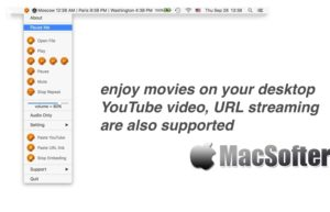 [Mac限免] desktopCinema :直接在桌面上播放视频的工具