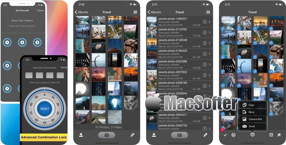 [iPhone/iPad限免] 安全监控照片+视频 :隐私照片视频密码保护软件