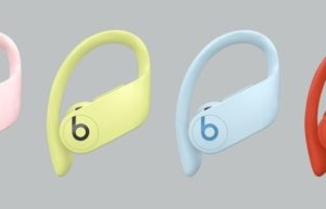 Powerbeats Pro四款新色国内正式开卖:云彩粉、活力黄、冰川蓝及熔岩红