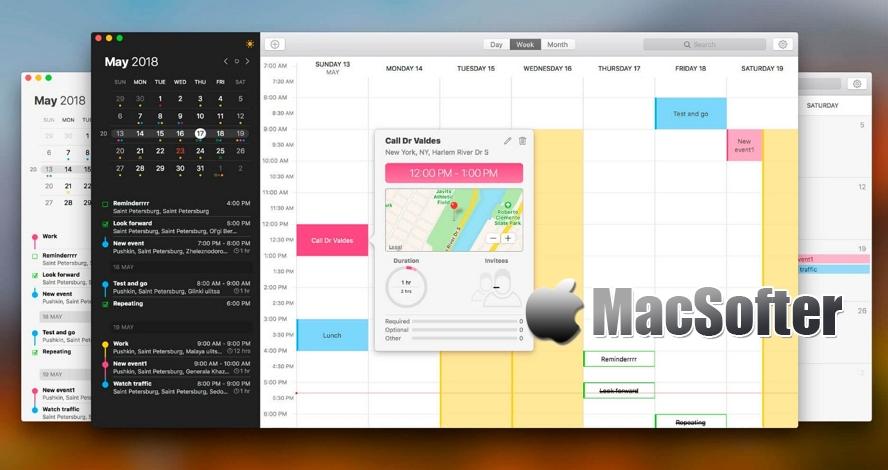 [Mac] Calendarique :增强型日历工具