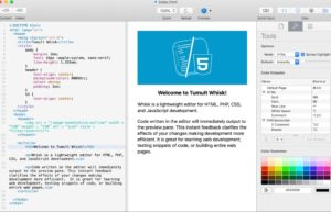 [Mac] Whisk : 轻量级网页编辑器