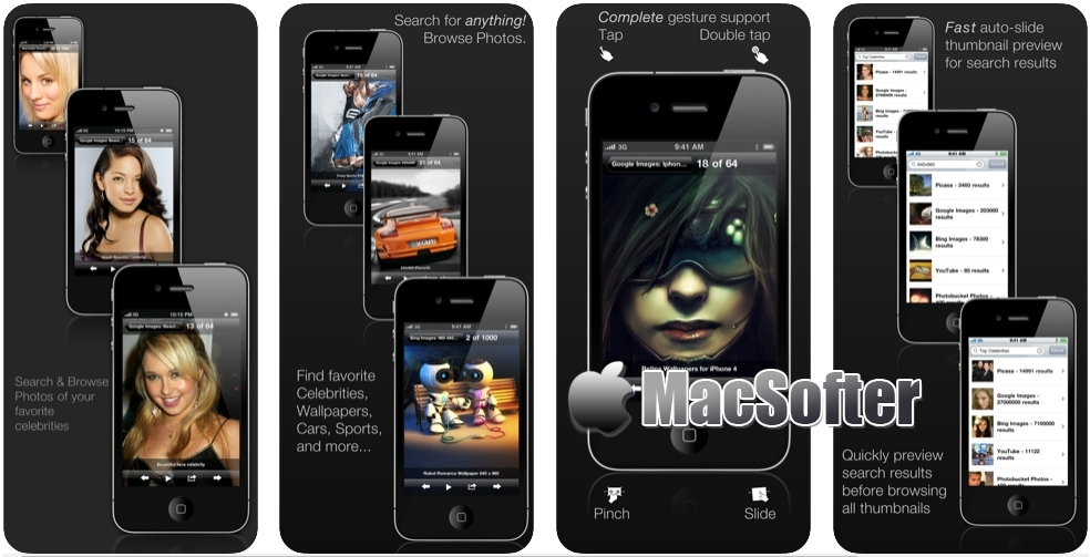 [iPhone/iPad限免] picTrove 1 Image Search : 图片搜索软件