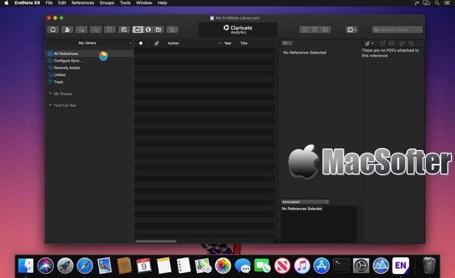 [Mac] EndNote : 强大专业的文献管理工具