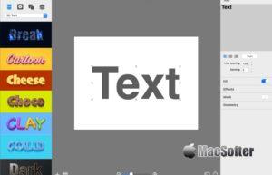 [Mac] BeLight Art Text : 专业好用的艺术字设计及图标设计软件