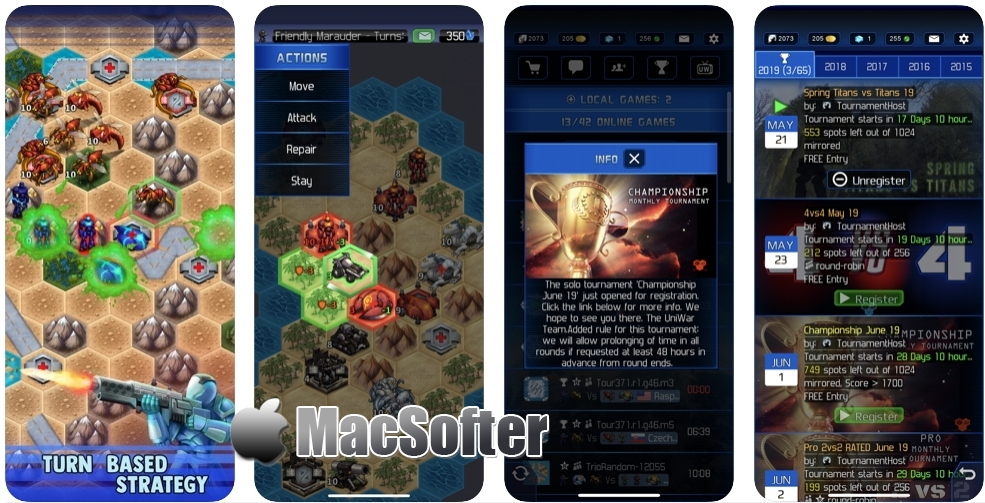 [iPhone/iPad限免] UniWar: Multiplayer Strategy - 星际战争游戏