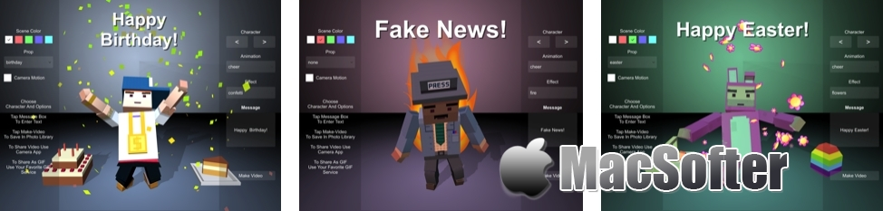 [iPhone/iPad限免] Pantomimer : 积木人视频制作软件