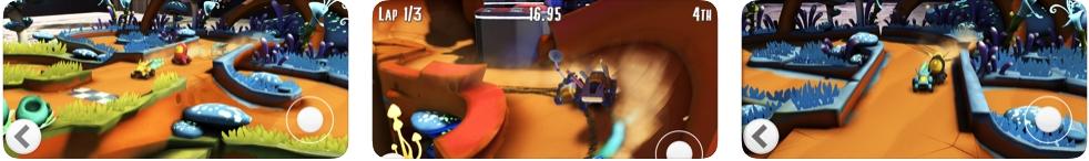 [iPhone/iPad限免] Krystal Kart AR : 基于AR的漂移赛车游戏
