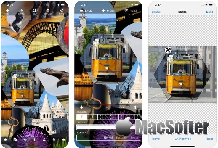 [iPhone/iPad限免] Montage :照片拼图软件