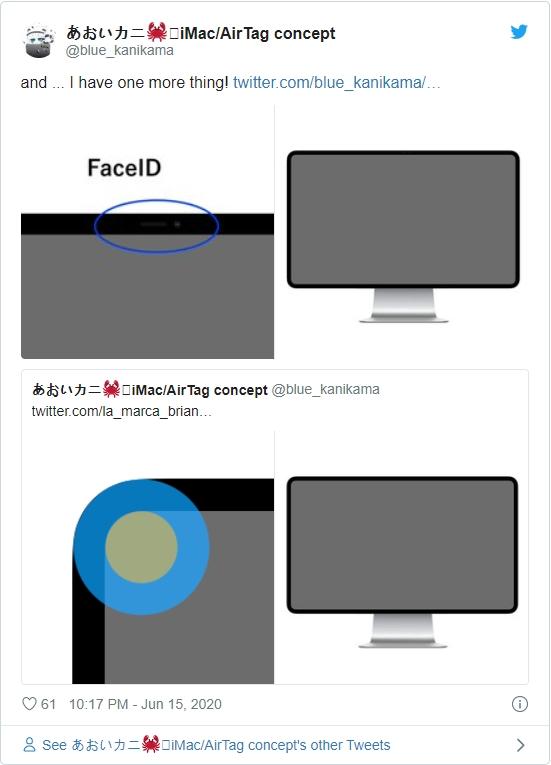 爆料称新款iMac将支持Face ID